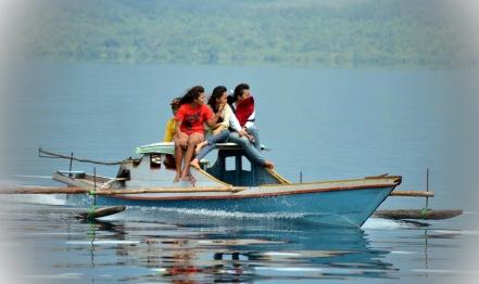water transportation called katinting..
