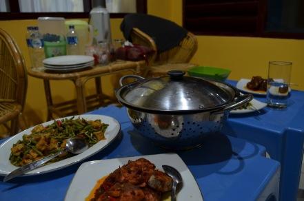 makan malam di BRD