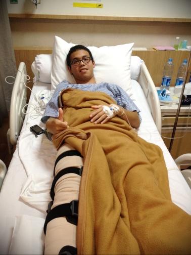 malam setelah selesai operasi