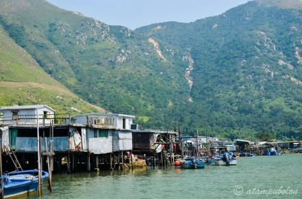 view from Tai-O bot excursion