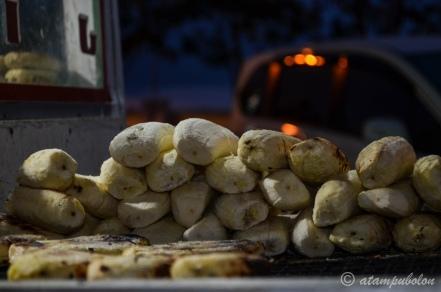 pisang epe - sebelum dibakar dan dibentuk