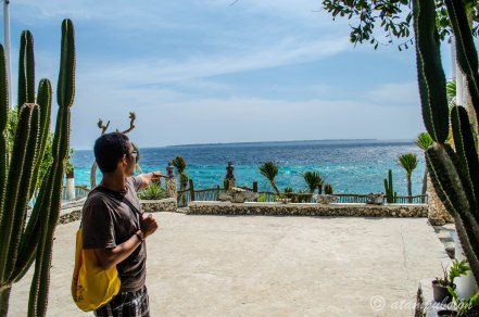 memasuki Amatoa dengan pemandangan laut lepas