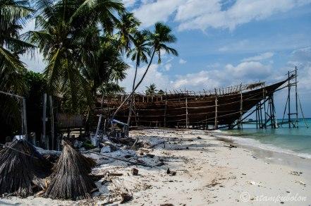 pembuatan Kapal Phinisi