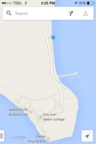 lokasi panrang luhu tempat kita makan kelapa muda