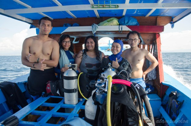 after dive and snorkeling